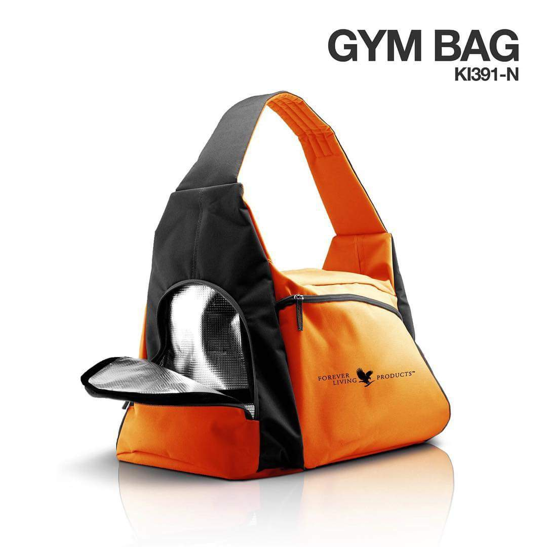 FIT torba Gym - oranžna